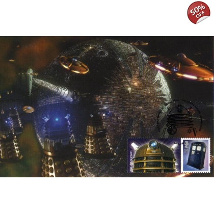 Dr Who Maximum card - Dalek 4