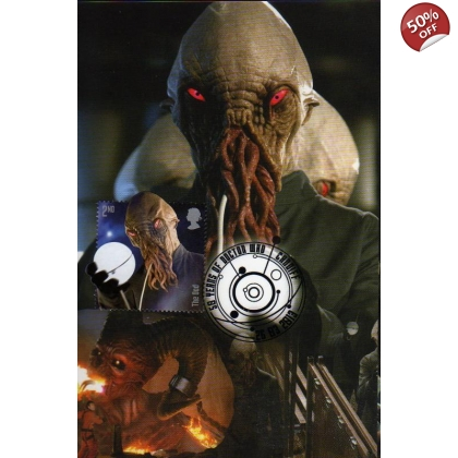 Dr Who Maximum card - The Ood 2