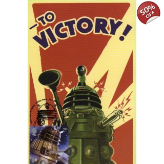 Dr Who Maximum card - Dalek 10