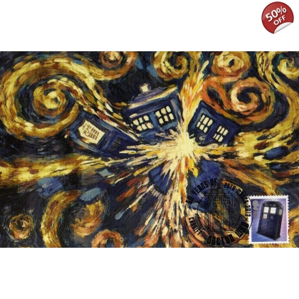 Dr Who Maximum card - Tardis 6