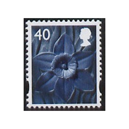 W101 40p Wales stamp 2004
