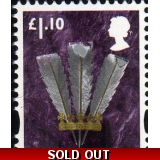 W133 Wales £1.10 stamp 2011