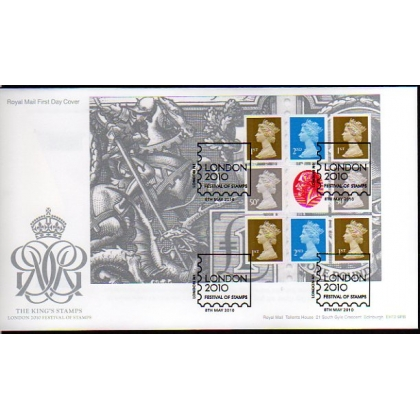 3068 King's Stamps prestige book set of first day covers 2010
