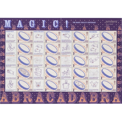 LS23 Magic Circle Smilers Sheet 2005