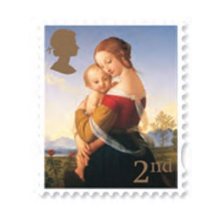 2787 Christmas 2007 set of 2 Madonna s..