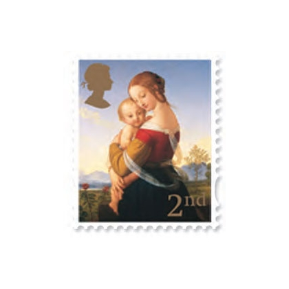 2787 Christmas 2007 set of 2 Madonna stamps
