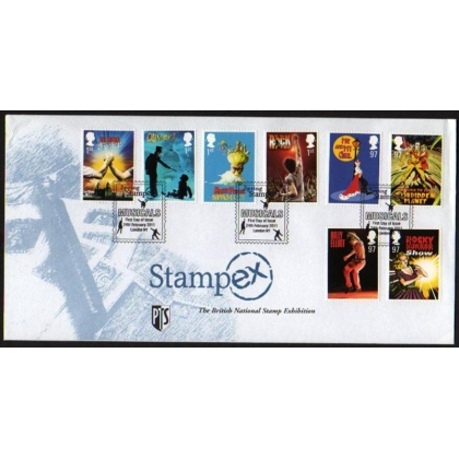 3145 Stage Musicals Stampex first day cover 2011