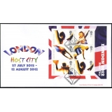 2554 London 2012 Olympic Bid Norvic FDC