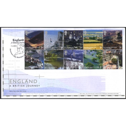 2597rd British Journey England Royal Mail FDC