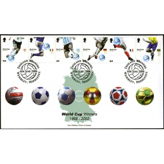 2628 World Cup Winners Norvic fdc Wemb..