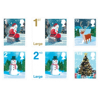 2678 Christmas set of 6