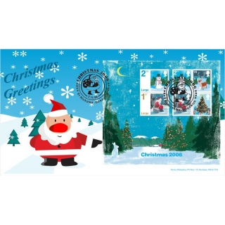 2684 Christmas MS on Norvic FDC 2006