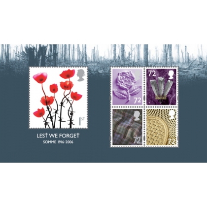 2685MS Lest We Forget 206 MS mint