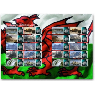 LS37 Glorious Wales Smilers Sheet - ne..