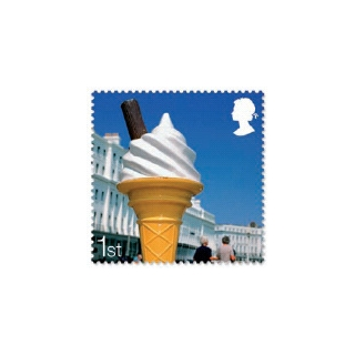 2848 Ice Cream self-adhesive booklet s..