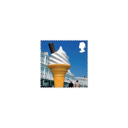2848 Ice Cream self-adhesive booklet stamp