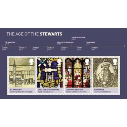 3053MS House of Stewart Timeline