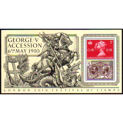 3065 Accession of King George V Centenary