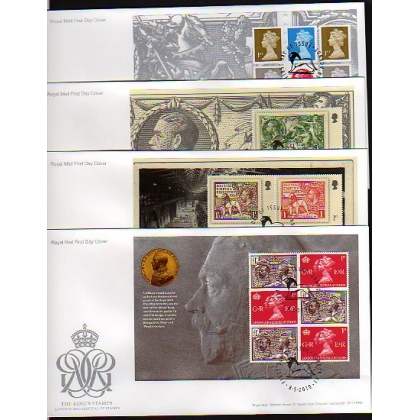 3070 King's Stamps prestige book set of first day covers 2010