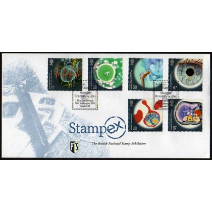 3115 Medical Breakthroughs Stampex official first day cover