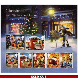 3135MS Wallace & Gromit Christmas mini..