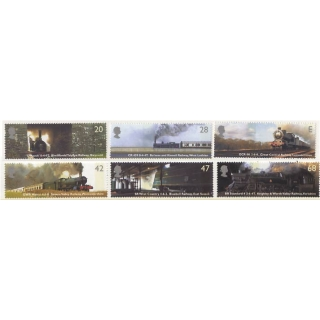 2417 Classic Steam Locomotives
