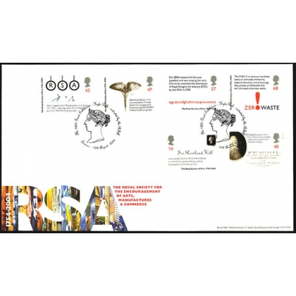 2473 Royal Society Royal Mal FDC