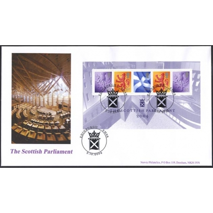 2488 Scottish Parliament Norvic FDC