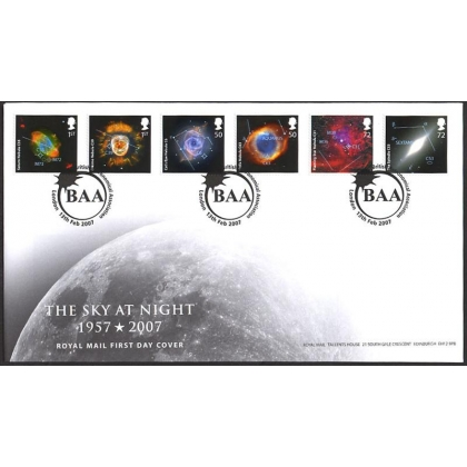 2709 The Sly at Night Royal Mail first day cover 2007