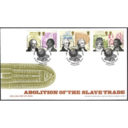 2728 Abolition of Slavery Royal Mail fdc 2007