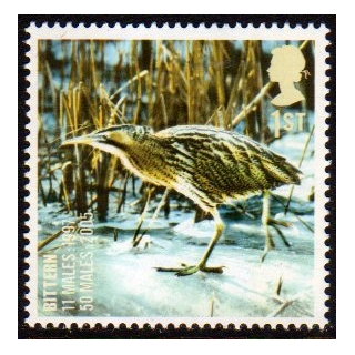 2770 Bittern - Endangered Bird stamp m..