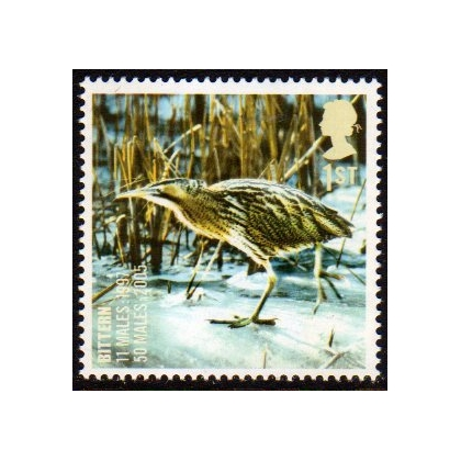 2770 Bittern - Endangered Bird stamp mint