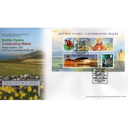 2910 Celebrating Wales Royal Mail first day cover