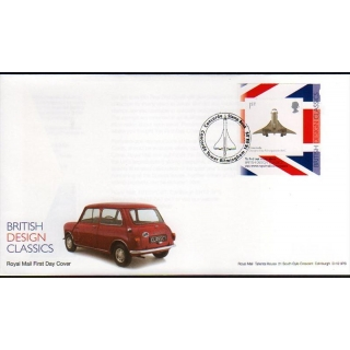 2914b Concorde booklet stamp Royal Mai..