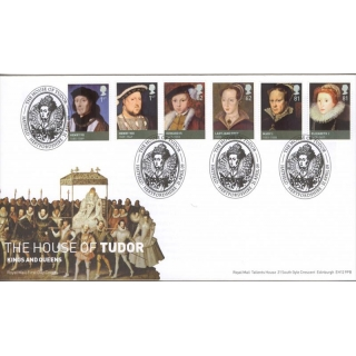 2924 House of Tudor Royal Mail first d..