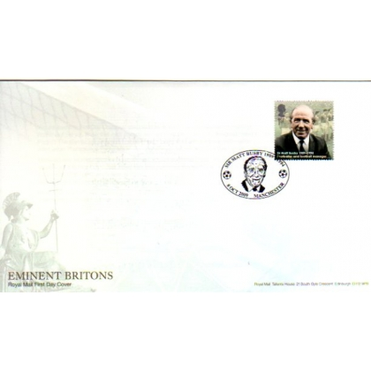 2973 Sir Matt Busby Royal Mail first day cover 2009