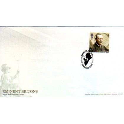 2976 Sir Arthur Conan Doyle Royal Mail first day cover 2009