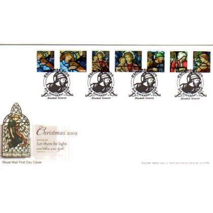 2991 Christmas on Royal Mail first day cover 2009