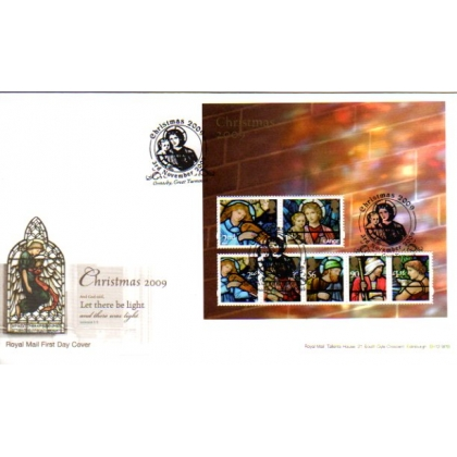 2998 Christmas MS on Royal Mail first day cover 2009