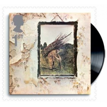 3006 Classic Album Covers Led Zeppelin stamp mint