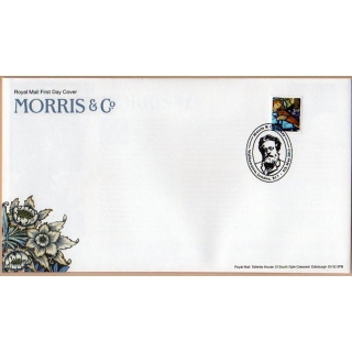 3186a William Morris Christmas stamp e..