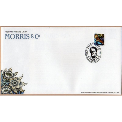 3186a William Morris Christmas stamp ex PSB on first day cover 2011