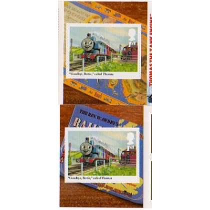 3194 Thomas the Tank Engine booklet single self-adhesive
