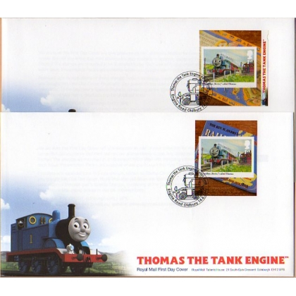 3194 Thomas the Tank Engine booklet stamp first day cover 2011