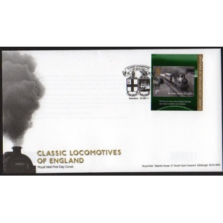 3215 English Locomotive booklet stamp ..