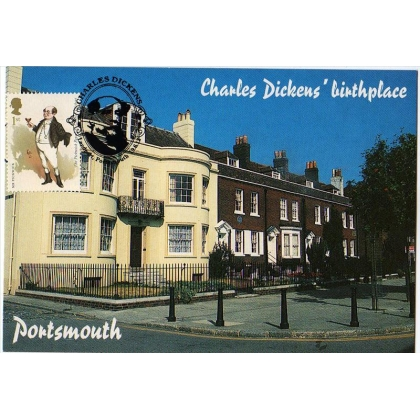 3335 Charles Dickens Centenary maximum card