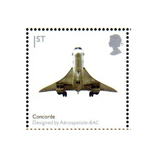 2914 Concorde airliner self-adhesive