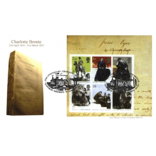 2524 Charlotte Bronte MS Norvic FDC 2005