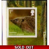 3088 Mammals - Hedgehog self-adhesive ..