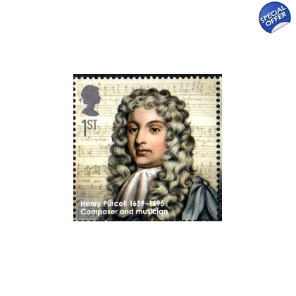 2972 Henry Purcell - Eminent Britons stamp